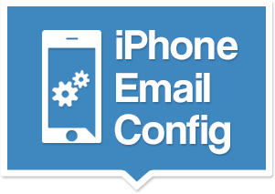 iphone email config